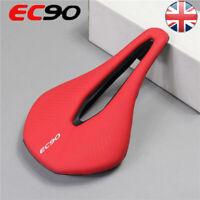 EC90 MTB Road Bike Gel Soft Leather Saddle Bicycle Cushions Comfortable Unisex