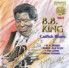 "B.B King "" Catfish Blues "" Blues CD New & orig. Box 14 TRACKS Cosmus DSB"