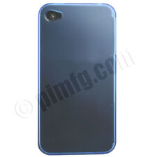 iPhone 4 / 4S TPU Case - Transparent Blue (AT&T, Verizon & Sprint)