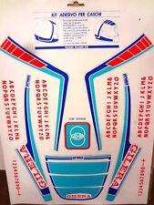 Kit adesivi stickers casco helmet anni 80's vintage epoca - GILERA