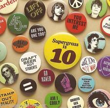 SUPERGRASS - Supergrass Is 10: The Best Of 94-04 (UK 21 Tk CD Album)