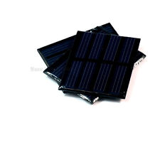 3pcs 3X 2V, 150mA 300mW 1Watts 1W Totally Solar Panel Power Cell For Charger