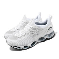Mizuno Wave Prophecy Waveknit White Grey Mens Road Running Shoes J1GR1949-70