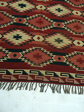 Accent Throw Afghan OACCENT-3A Southwest Southwestern Geometric Design 4' X 5' B