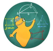 Barbalib Matematica Lezione - Barbapapà Melamina Piatto da Dessert 20cm/20.3cm