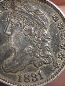 1831 Capped Bust Half Dime- XF Details