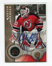 2005-06 SP Game Used Autographs #58 Martin Brodeur 1/5