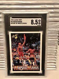 1990 Hulk Hogan Macho Man Randy Savage Rookie SGC WWF WWE Wrestlemania AEW TNA