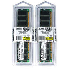 1GB 2 x 512MB SD Desktop Modules 100 SDRam 100 168 pin 168-pin SD Memory Ram Lot