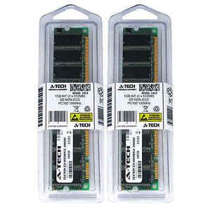 1GB 2 x 512MB SD Desktop Modules 100 SDRam 100 168 pin 168-pin SD Memory Ram Lot