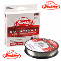 Berkley Solutions Clear Monofilament Fishing Line 300m Various Breaking Strains