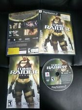 Tomb Raider (Sony PS2 PlayStation 2) Black Label Complete
