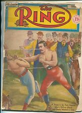 """""""THE RING"""" January 1951 issue / BOXING and PROFESSIONAL WRESTLING MAGAZINE"""