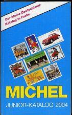 Michel. Junior-Katalog 2004. 797 pp ill. a colori. Catalogo dei franco