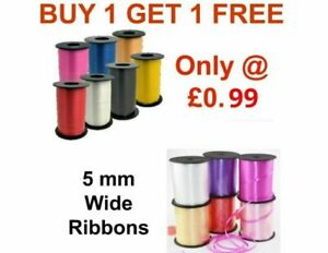 50 Meter Curling Foil Balloon string Ribbons tie Wedding Wrapping Gifts