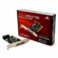 Vantec UGT-ST310R 6-Port SATA II 150 PCI Host Card with RAID