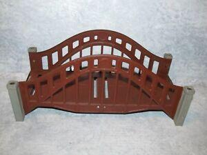 Rare Vintage Prewar Lionel Brown/Gray Tin Bridge Span Standard Gauge, Great Cond