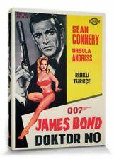 James Bond 007 - Sean Connery Poster Leinwand-Druck Bild (80x60cm) #91720