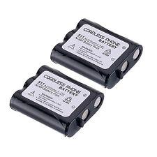 Lot of 2 Pcs Home Telephone Battery for Panasonic P-P511 ER-P511 HHR-P402 Set