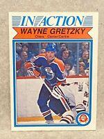 1982-83 O-Pee-Chee In Action #107 Wayne Gretzky OPC