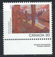 Canada #965(2) 1982 30 cent CANADA DAY - BRITISH COLUMBIA MNH
