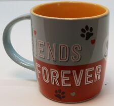 Nostalgic Art Tasse Friends Forever Kaffeetasse Teetasse für Hundeliebhaber Dogs