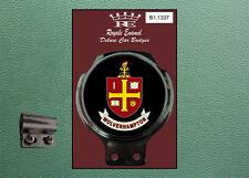 Royale Classic Car Badge & Bar Clip WOLVERHAMPTON WOLVES B1.1337
