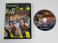 Raw Danger (Sony PlayStation 2, 2007 PS2) - Disc & Case, Tested