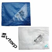 vtarp® HEAVY DUTY TARPAULIN WATERPROOF EX STRONG COVER GROUND SHEET TARP 150GSM