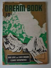 Dream Book, 1000 Love and Luck Dreams, Booklet, 1938