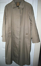 Burberry Ladies trench Coat SIZE 12 LONG Authentic Genuine Burberry VGC