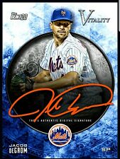 Topps BUNT Jacob deGrom TEAM COLOR Signature VITALITY 2020 [DIGITAL CARD]