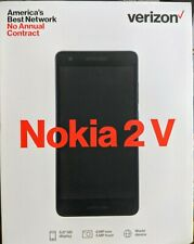 Nokia 2V 16GB Prepaid Smartphone, Black - Verizon Wireless (Brand New)
