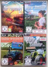 Der Forstwirt 2015 + Agrar Simulator 2012 + 11 + Historische Landmaschinen PC
