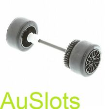 Scalextric W9295 Aston Martin DBR9 Rear Wheel Assembly C2644C2758C2903 Fit C2790