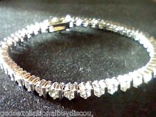 ROUND WOMENS LCS DIAMOND TENNIS LINE BRACELET SZ 7 SEE ALL BRACELETS IN STORE! >