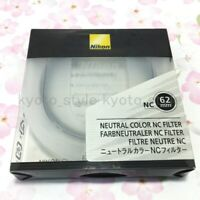 Nikon official NC-62 Neutral Color Filter 62mm JAPAN
