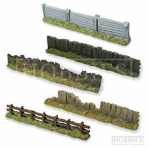 Javis Fencing Concrete Wood Wire Fence  Scenery Wargame 00 Gauge Model Railway