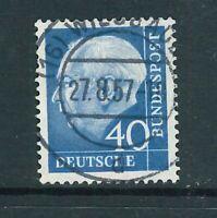 BRD Mi.-Nr. 260x - zentrisch gestempelt - Vollstempel