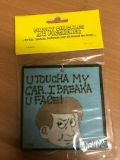 cheeky chuckles Air Freshener New Sealed Car Home Office funny gift dont touch C