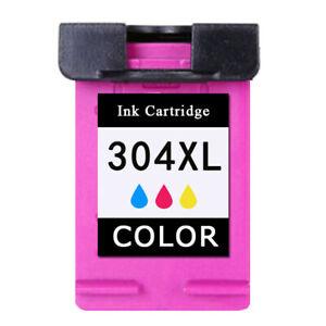 1x Farbe Patronen für HP 304 XL 304XL Envy 5000 5020 5030 5032 Deskjet 3720 3730