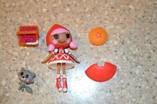 Lalaloopsy MINI DOLL playset: Scarlet Little Red Riding Hood Complete (K)