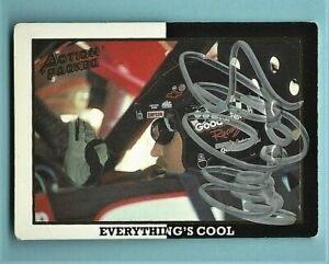 DALE EARNHARDT SR  - AUTOGRAPHED - 1994 Action Packed -  Card #23       [f2]