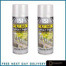 Galvanising Spray Paint Undercoat Grey Protects Against Rust 400ml