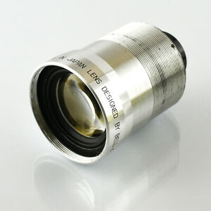 Bell & Howell 2 inch f1.4 Super D Proval Projector lens for 16mm