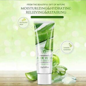 100% PURE Aloe Vera Gel DAY Skin Care Face Cream Hyaluronic Acid Anti Digging W…
