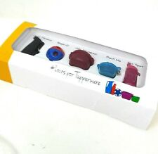 Tupperware Collectible Keychain Container  Set 5 in a Box  New