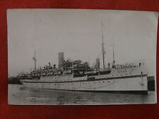 "BRITISH INDIA     H.M.T     (UNUSUAL)      ""NEVASSA""    1938   Post card"