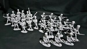 AIRFIX 1970'S VINTAGE FRENCH IMPERIAL GUARD 1815,  29 FIGURES FULL SET # 14.