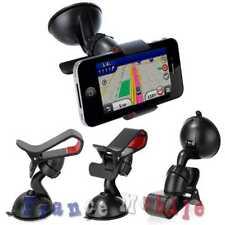 Support de Voiture avec Ventouse Parebrise pour Téléphone Smartphone GPS Holder